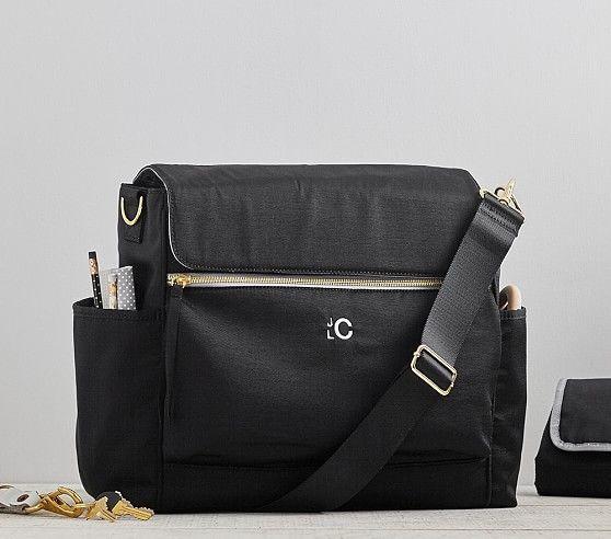 The Ultimate Diaper Bag, Black/Gray