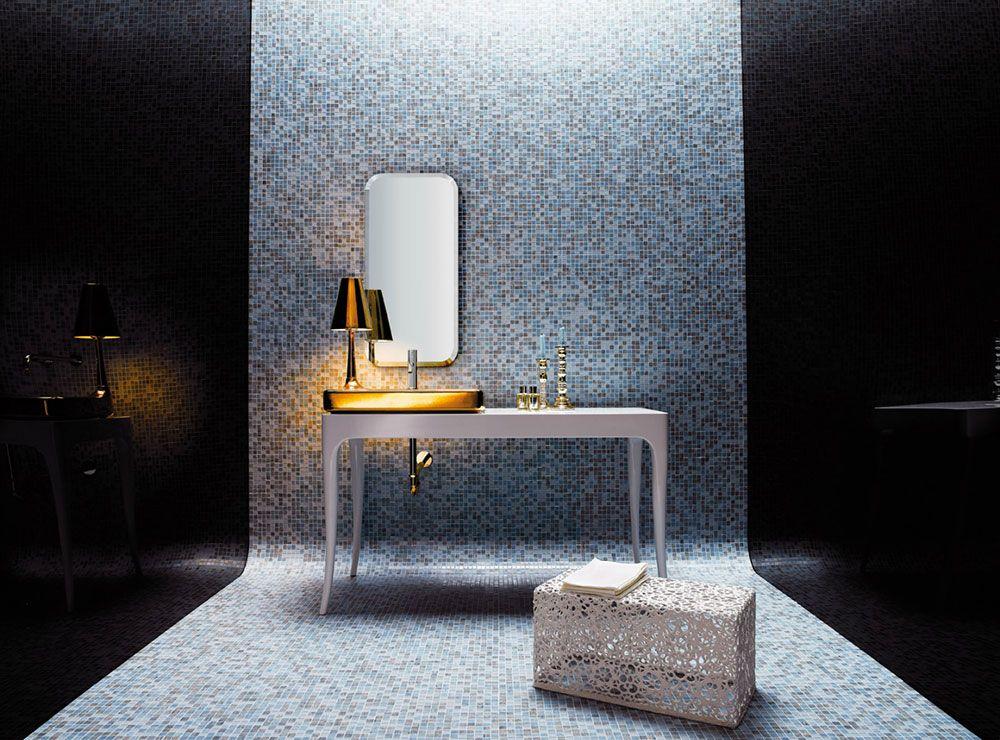 Bagno Con Mosaico Bisazza : Mosaico miscele ornella bisazza mosaico mosaic bathroom