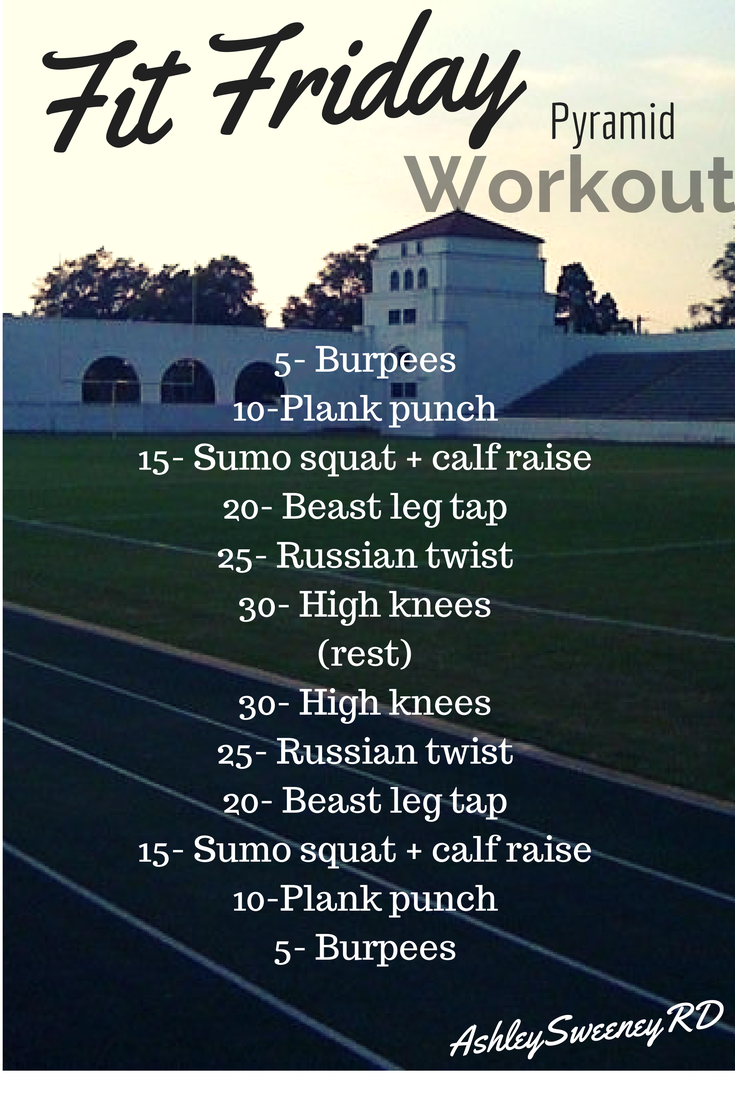 outdoor track workout, pyramid workout, circuit workout! | get fit