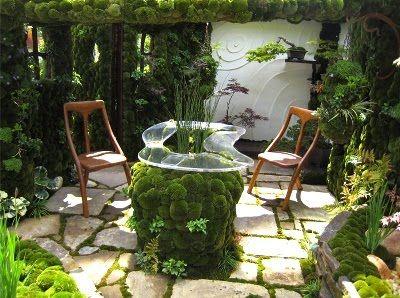 10 patios acogedores decoraci n de jardines peque os y - Patios jardines pequenos ...