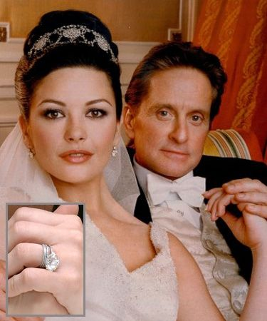 5 Most Expensive Celebrity Engagement Rings Catherine zeta jones