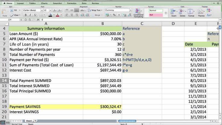 Mortgage calculator how to create a mortgage calculator