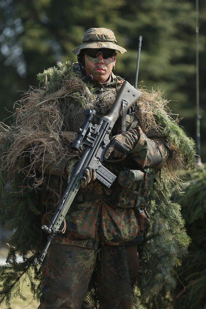 Deutscher Scharfschütze | Militär | Pinterest | Deutsch, Bundeswehr ...