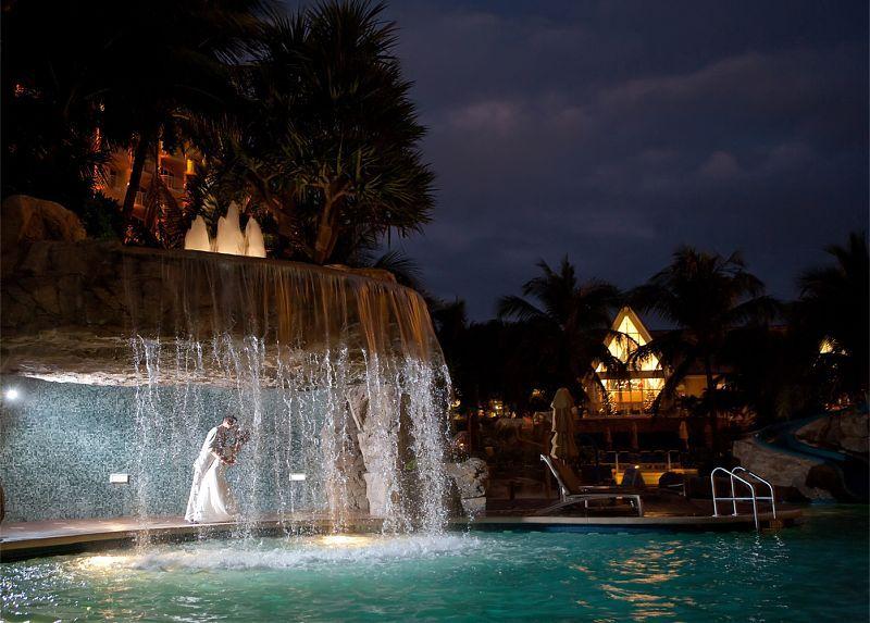 Wedding Venue Waterfall South Florida Wedding Marco Island Fl Marriott Hotel Marco Island Florida Marco Island Beach Beach Island Resort