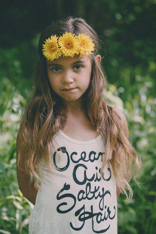 Ocean Air Salty Hair Tank | BB Children's Boutique