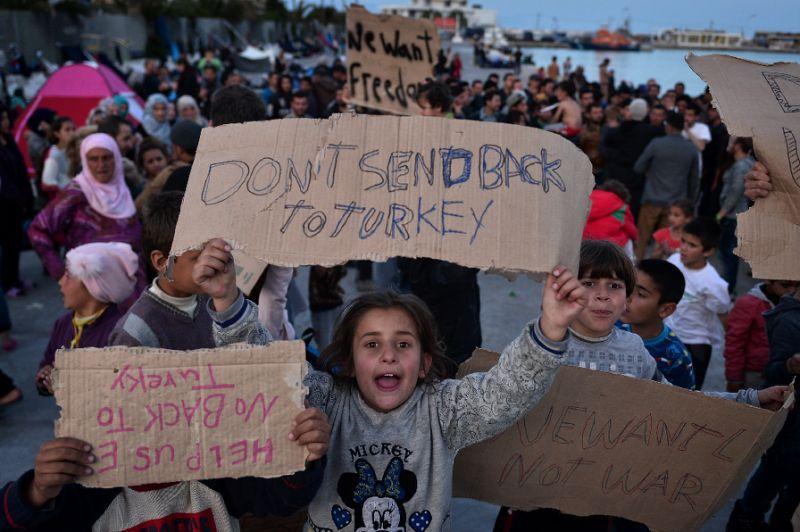 Greece Counts Down To First Turkey Migrant Returns Under Eu Deal Turkey Greece Syria News