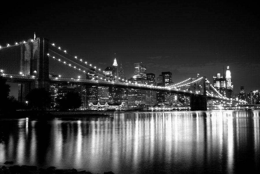 My Favorite Black And White Photo Brooklyn Bridge New York Brooklyn Bridge Bridge Wallpaper