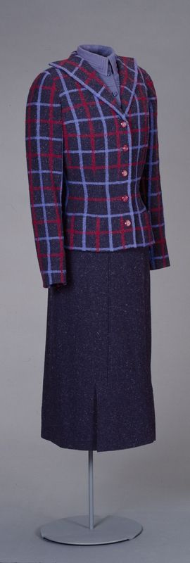 Worth - tailleur c. 1936-38