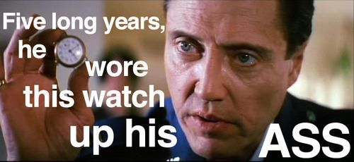 Merveilleux CHRISTOPHER WALKEN QUOTES PULP FICTION