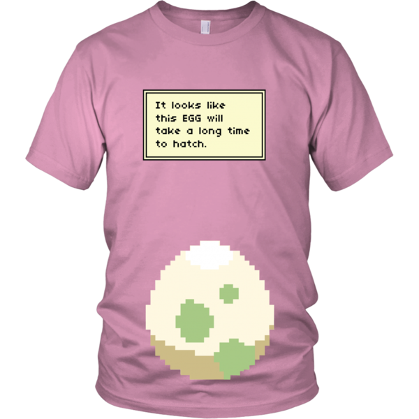 1eed2e7c You'd be staring at this Pokemon maternity shirt for months to see what  comes out of the egg!