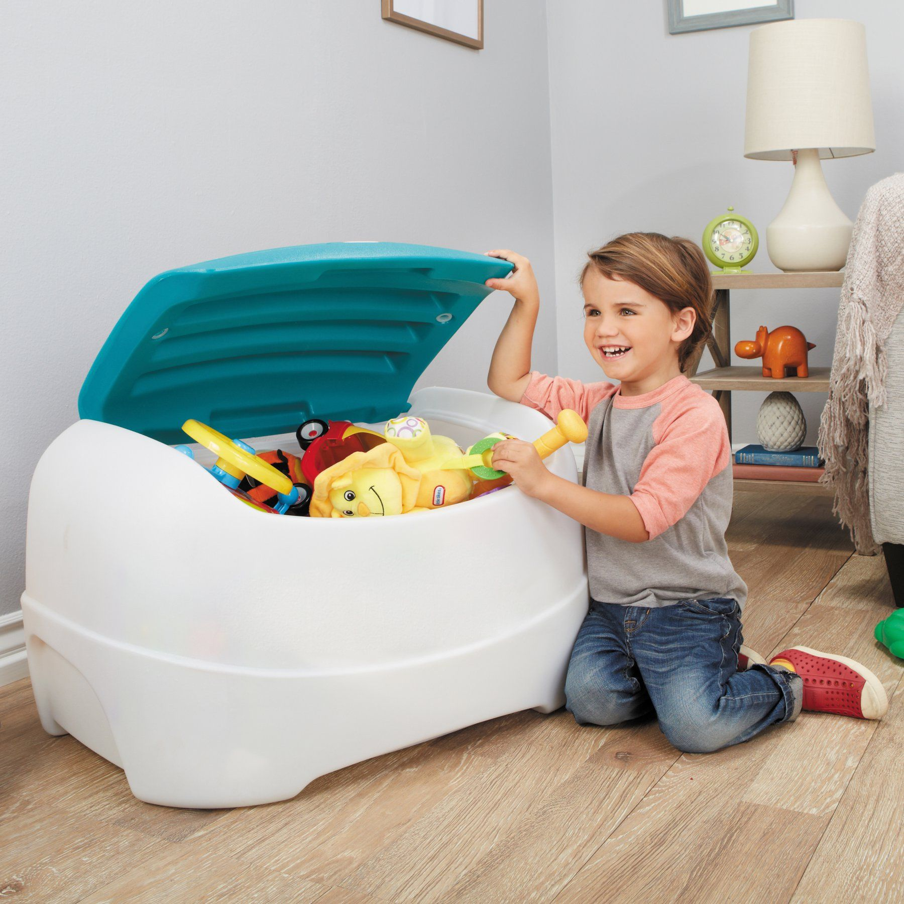 Little Tikes Play N Store Toy Chest Toy Storage Boxes Kids Toy