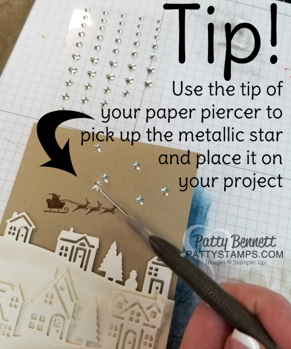 Crafting Tip Use The Tip Of Your Paper Piercer To Pick Up And Place