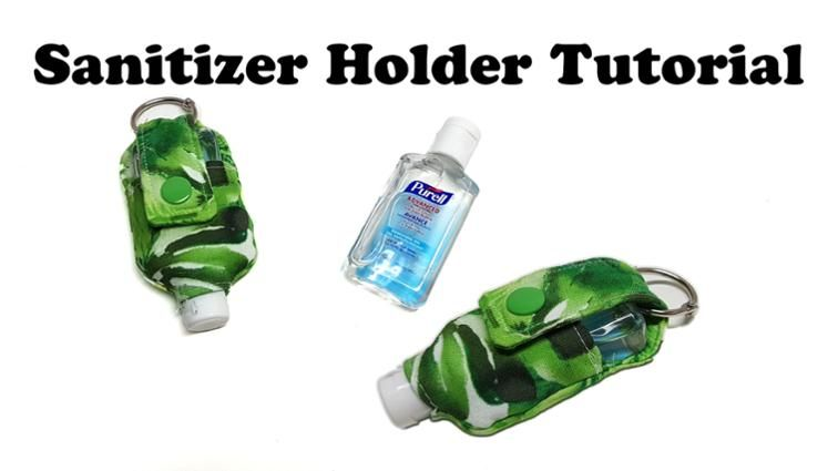 Free Sewing Pattern Hand Sanitizer Holder Hand Sanitizer Holder