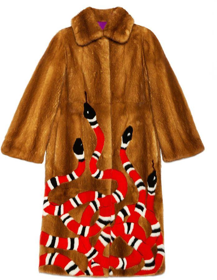 952237ade Kingsnake intarsia mink fur coat What an interesting piece. | coat | fur  coat | #affiliated #womenfurcoat #furcoat