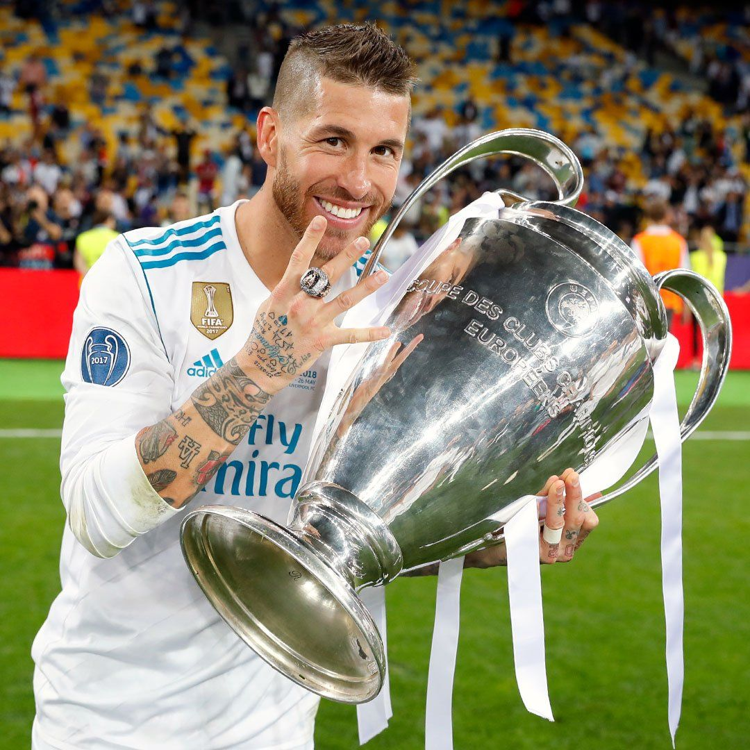 Champ13ns Auf Twitter 4 That S Four For The Captain Sergioramos 2014 2016 2017 2018 Real Madrid Players Real Madrid Ronaldo Real Madrid