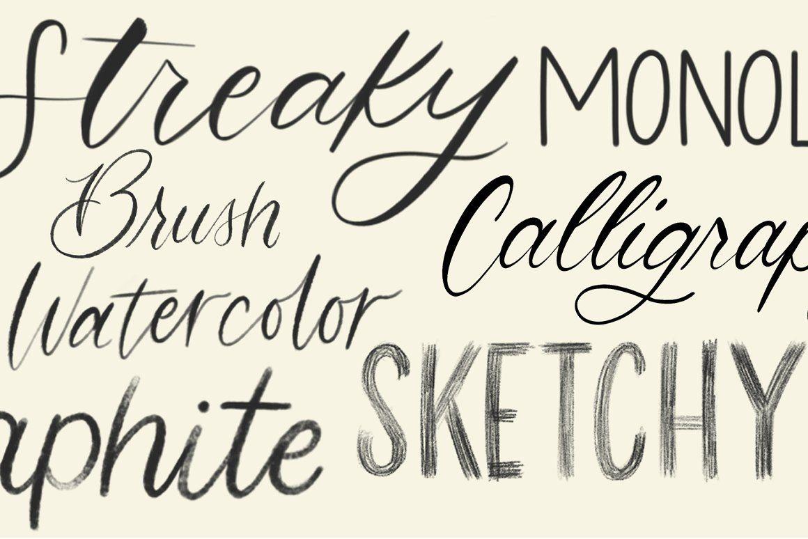 Download Procreate Lettering Brush Pack | Procreate lettering ...