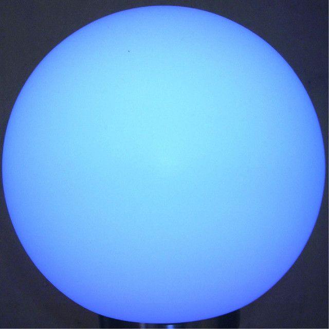 Blue Sphere Visual Aesthetics Abstract Wallpaper Geometric Art