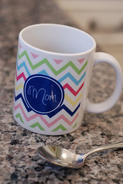 Monogrammed or Personalized Coffee Mug. 22.00, via Etsy