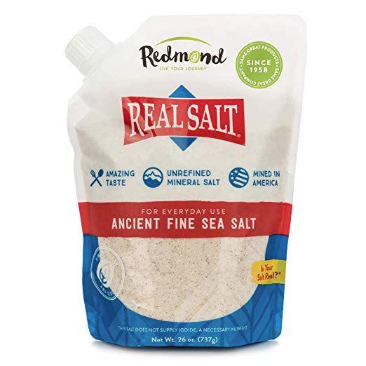 REDMOND Real Sea Salt Natural Unrefined Organic Gluten