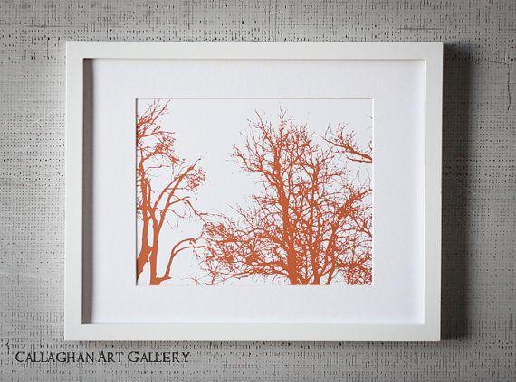 Unique Trees Fine Art Print Collection. Set of six 8 x 19. $72