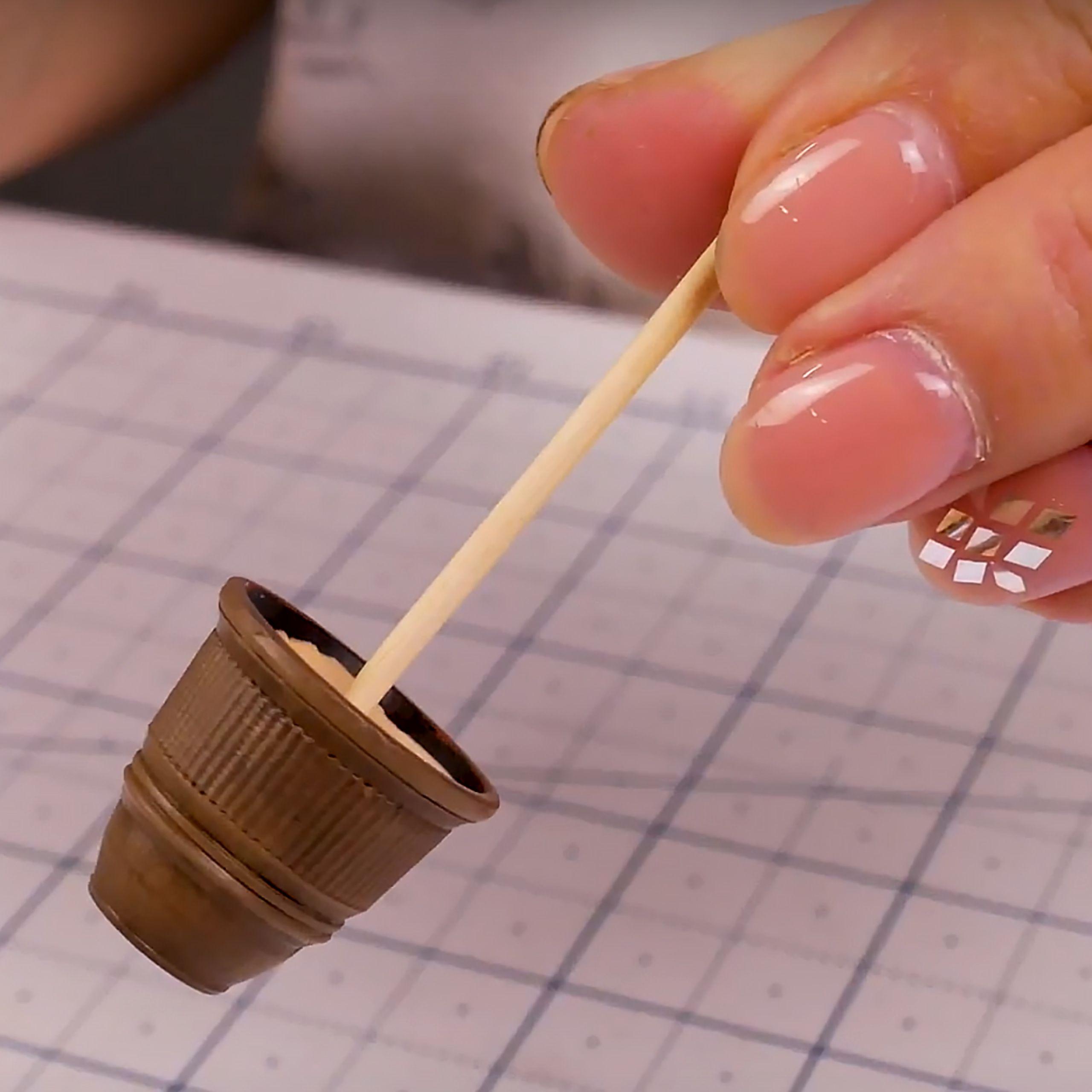 How to Make Amazing miniature Flower pot #5minutecraftsvideos