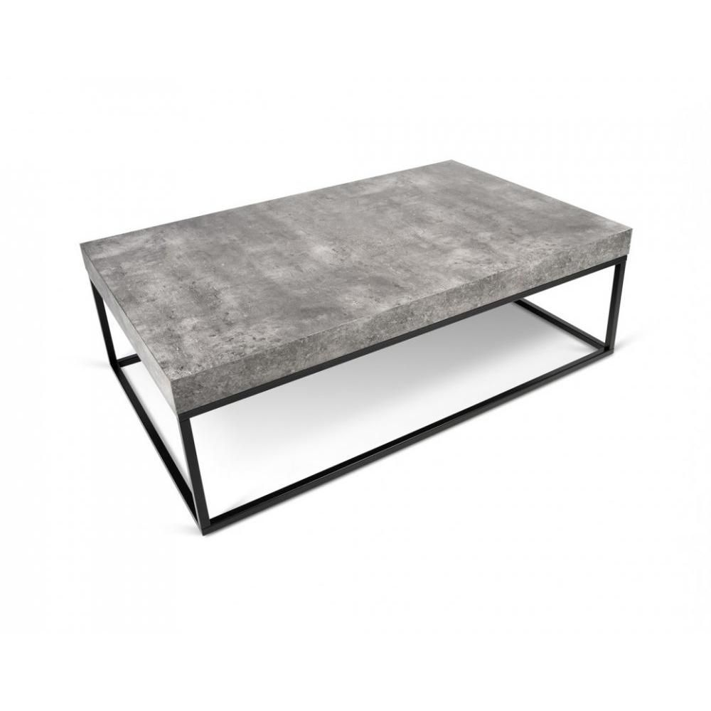 Temahome Table Basse Petra Effet Beton Table Basse Table Basse Effet Beton Table Basse Contemporaine