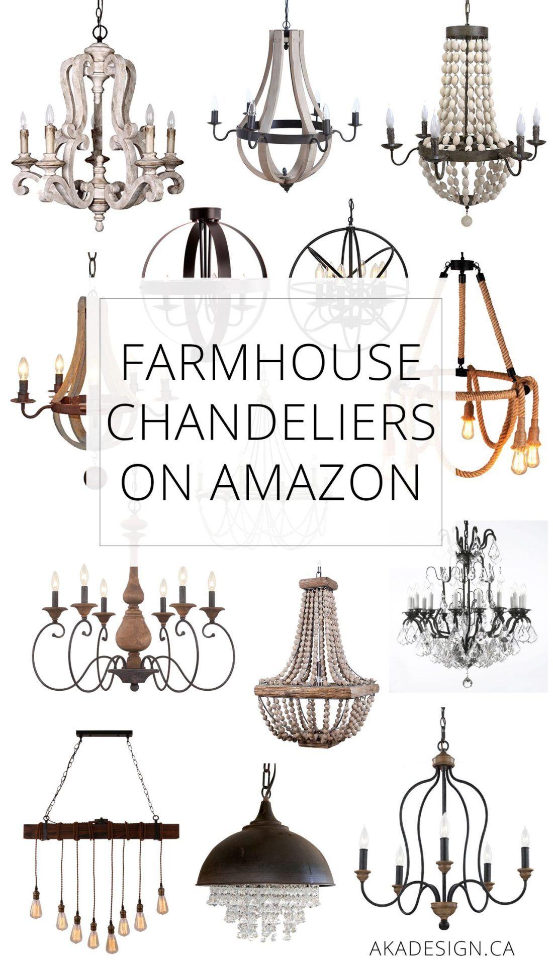 Farmhouse Chandeliers On Amazon Farmhouse Chandelier Chandelier Bedroom Chandelier