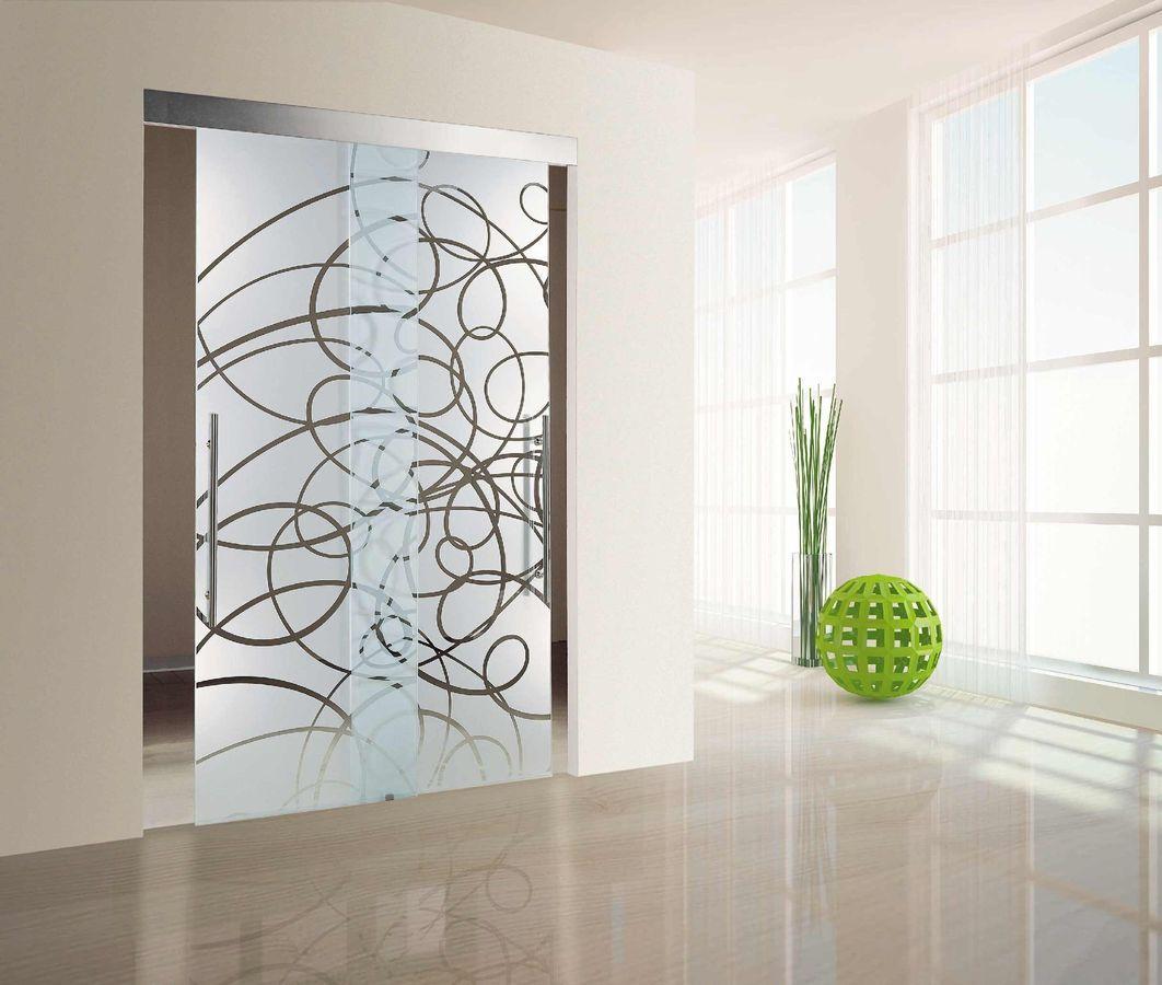 Double Glass Doors Hung Interior Decoration And Design Interior Interior Design Inspiration Decor Glass Doors Interior
