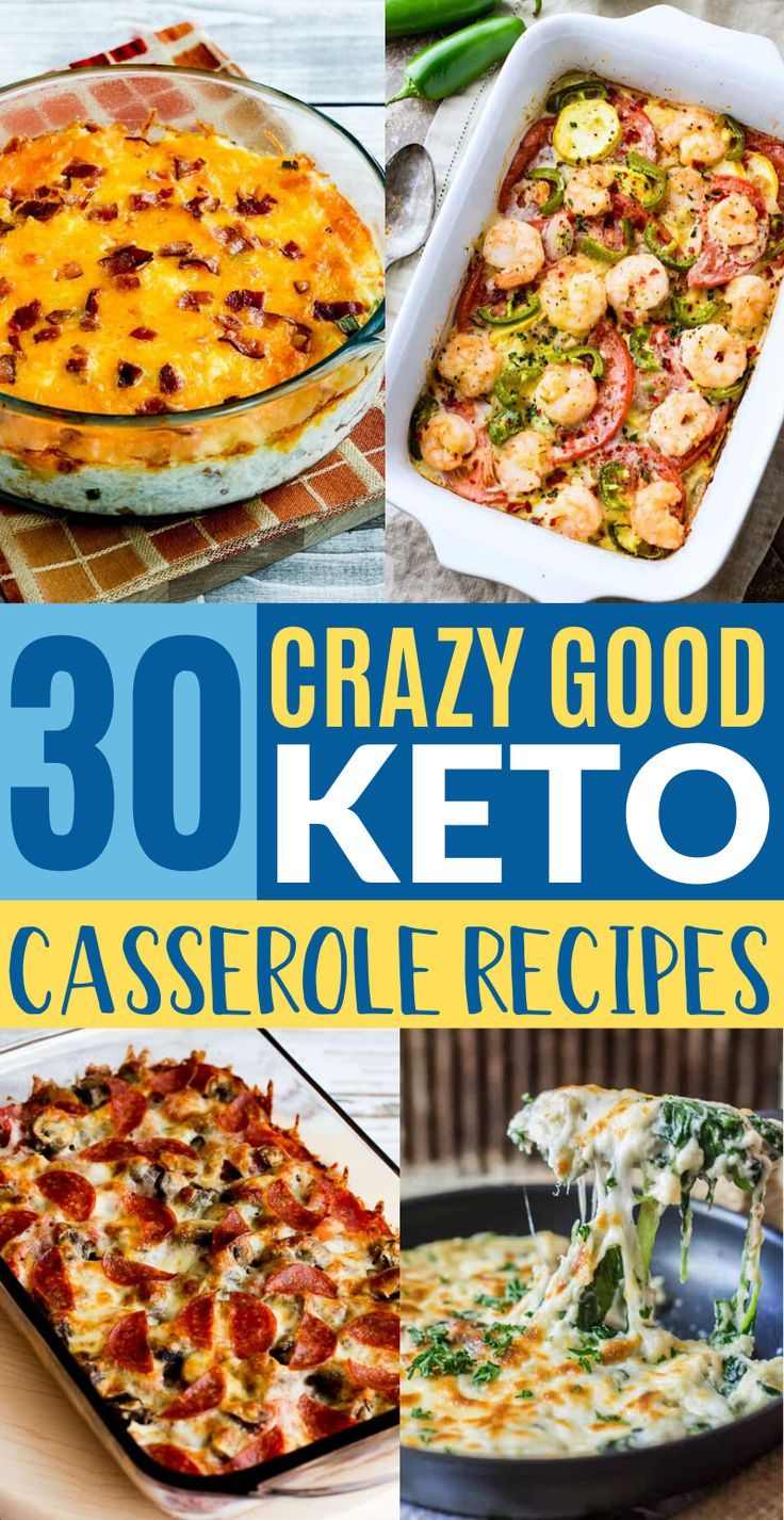 30 Easy Keto Casserole Recipes For Weight Loss
