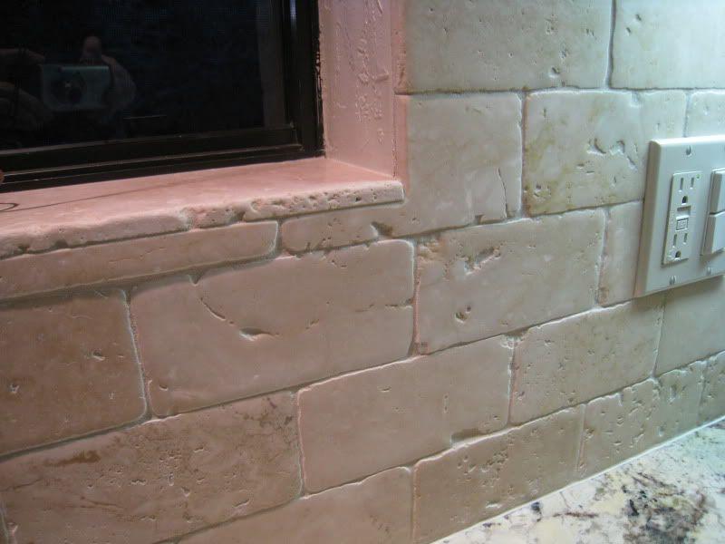 Back Splash Carmel Stone Imports Time Worn Series Light