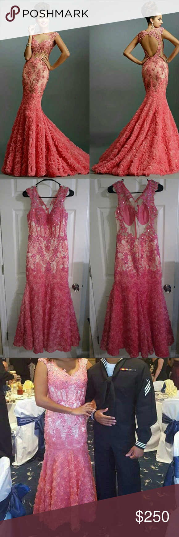 Pink sequin special occasion gown my posh picks pinterest