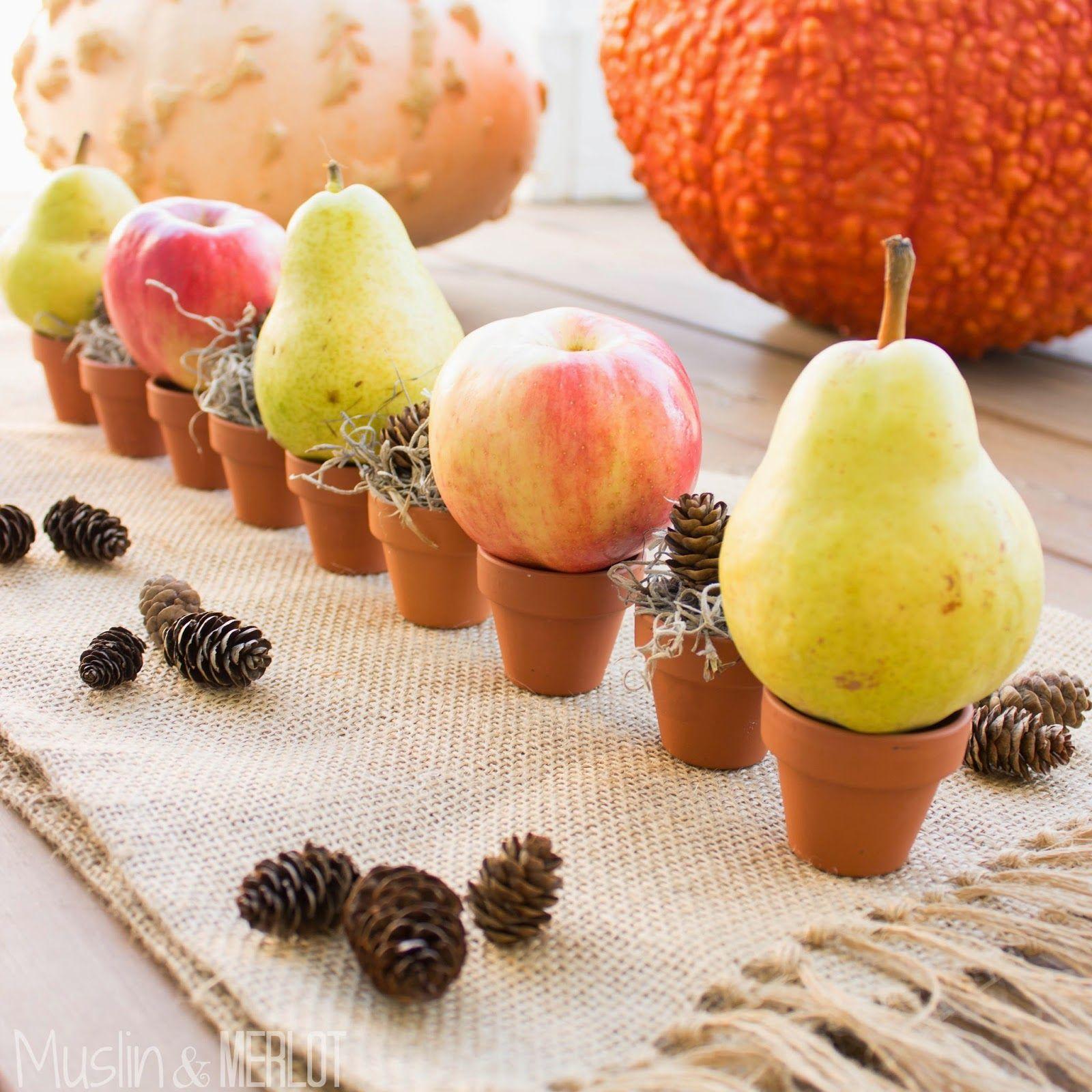 Edited Fruit Basket - Easy Rustic Fall Centerpiece!