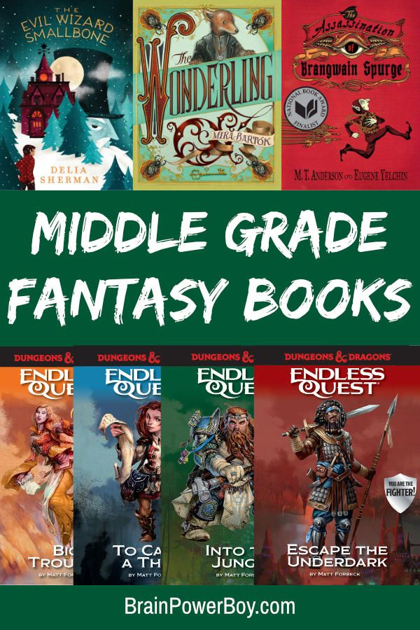 Middle Grade Fantasy Books Sure to Keep Them Reading! is part of Middle grade fantasy, Middle grades, Fantasy books, Middle grade books, Dungeons and dragons books, Books for teens - We found some wonderful middle grade fantasy books! They are great for tweens who like adventure and excitement  There are even Dungeons & Dragons titles!