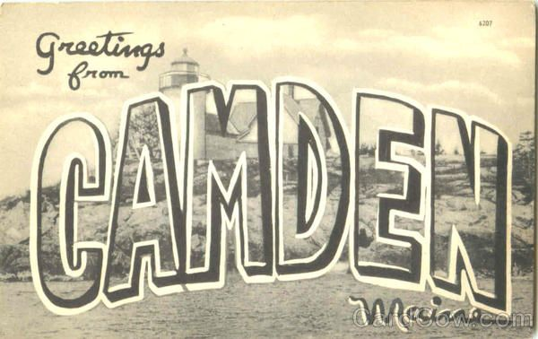 greetings from Camden, Maine