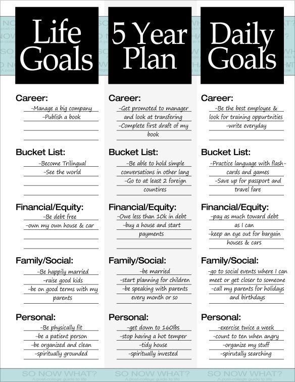 5 Year Career Development Plan Examples