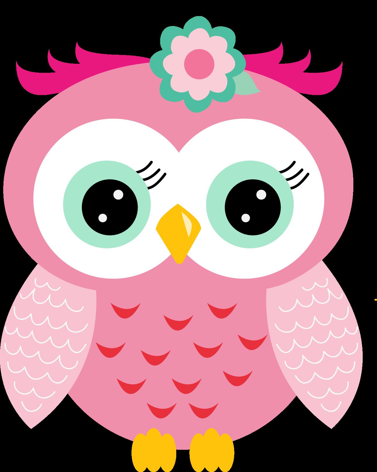cute owl clip art - HD1290×1614