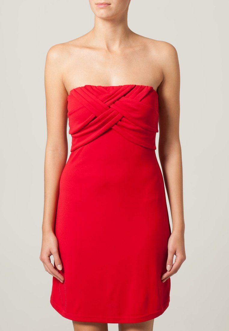 Zalando robe rouge morgan