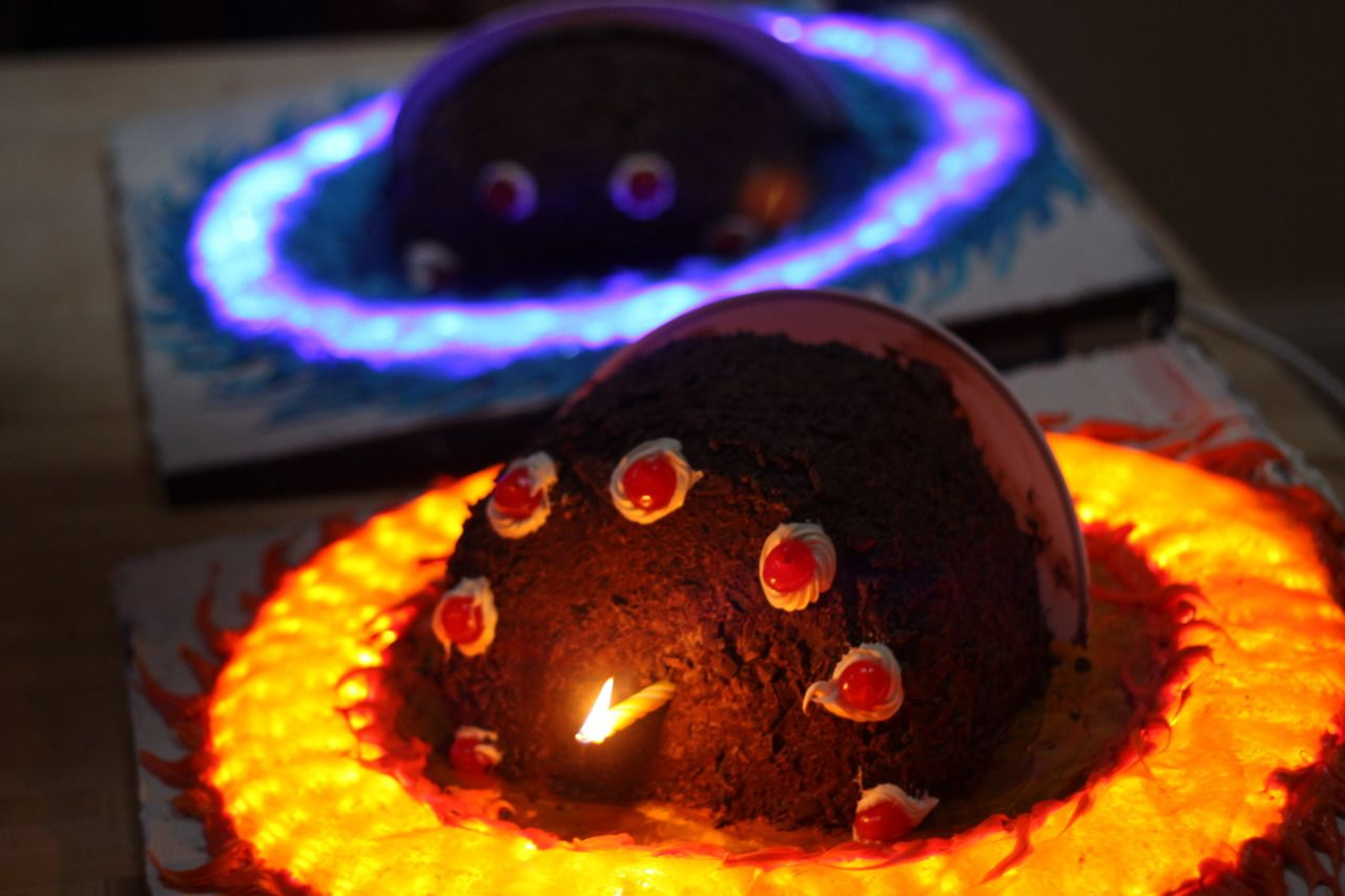 Brilliant Portal Cake If You Do Not Know The Games Portal Portal