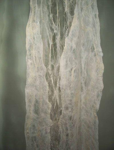 Dagmar Kovar: London, Ontario,  Evolution of Silence, Wool & Silk
