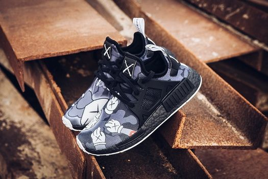 best sneakers 4a4b8 86cb0 Kaws X Adidas NMD Xr1 Boost Black Blue Grey How To Buy Shoe