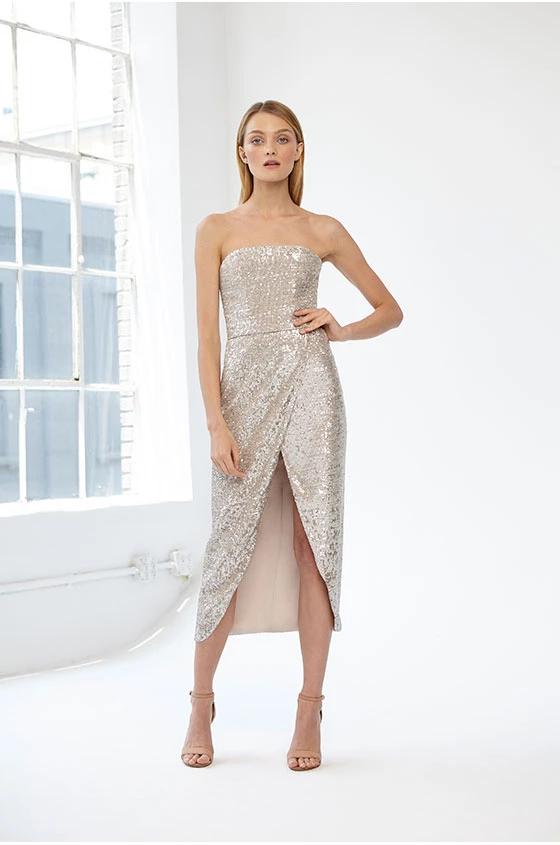 ML Monique Lhuillier Collection-RESORT 2019 -   15 dress Coctel monique lhuillier ideas