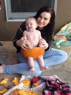 I never carve good pumpkins anyways
