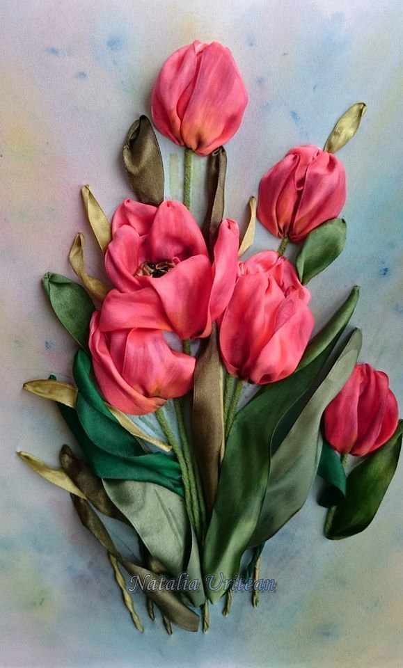 By natalia uritean embroidery pinterest ribbon
