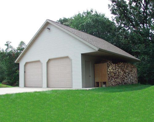 26 X 30 X 9 8 12 Pitch With Overhang At Menards 7900 Shed Plans Shed Garage