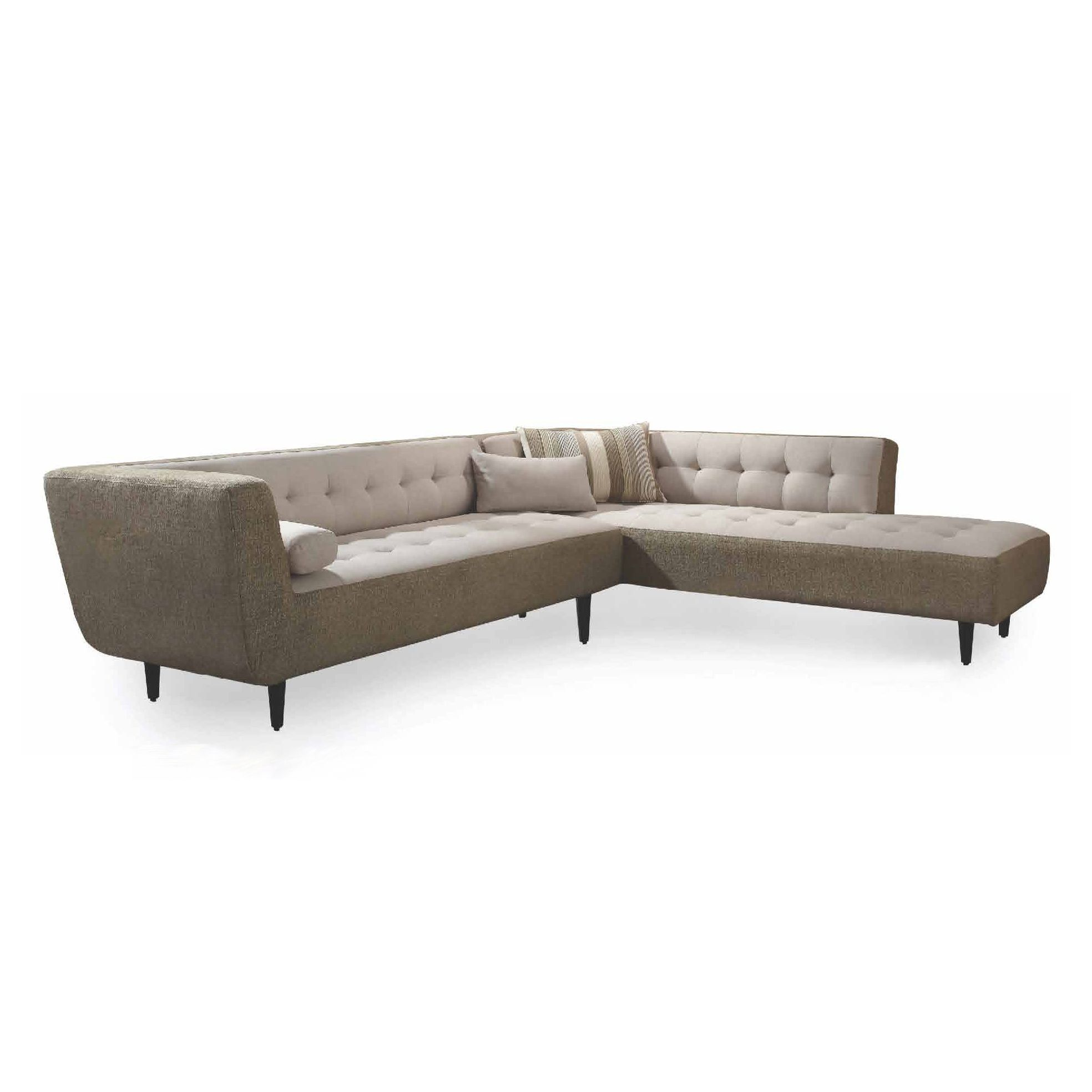 Comodo 2pc Sectional Sofa And Loveseat Set Cheap Sectional Couches Sofas For Small Spaces
