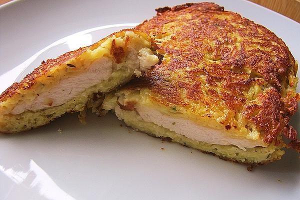 Albertos Schnitzel in der Kartoffel-Parmesan-Kräuterkruste von caralb | Chefkoch