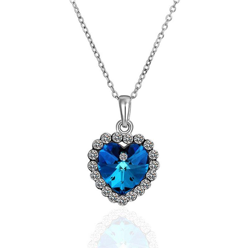 55b75f626f95 Ожерелья 18 К золото красивые ожерелья 18 К золото популярные женские  украшения оптовая продажа цены бесплатная доставка yuif LGPN482