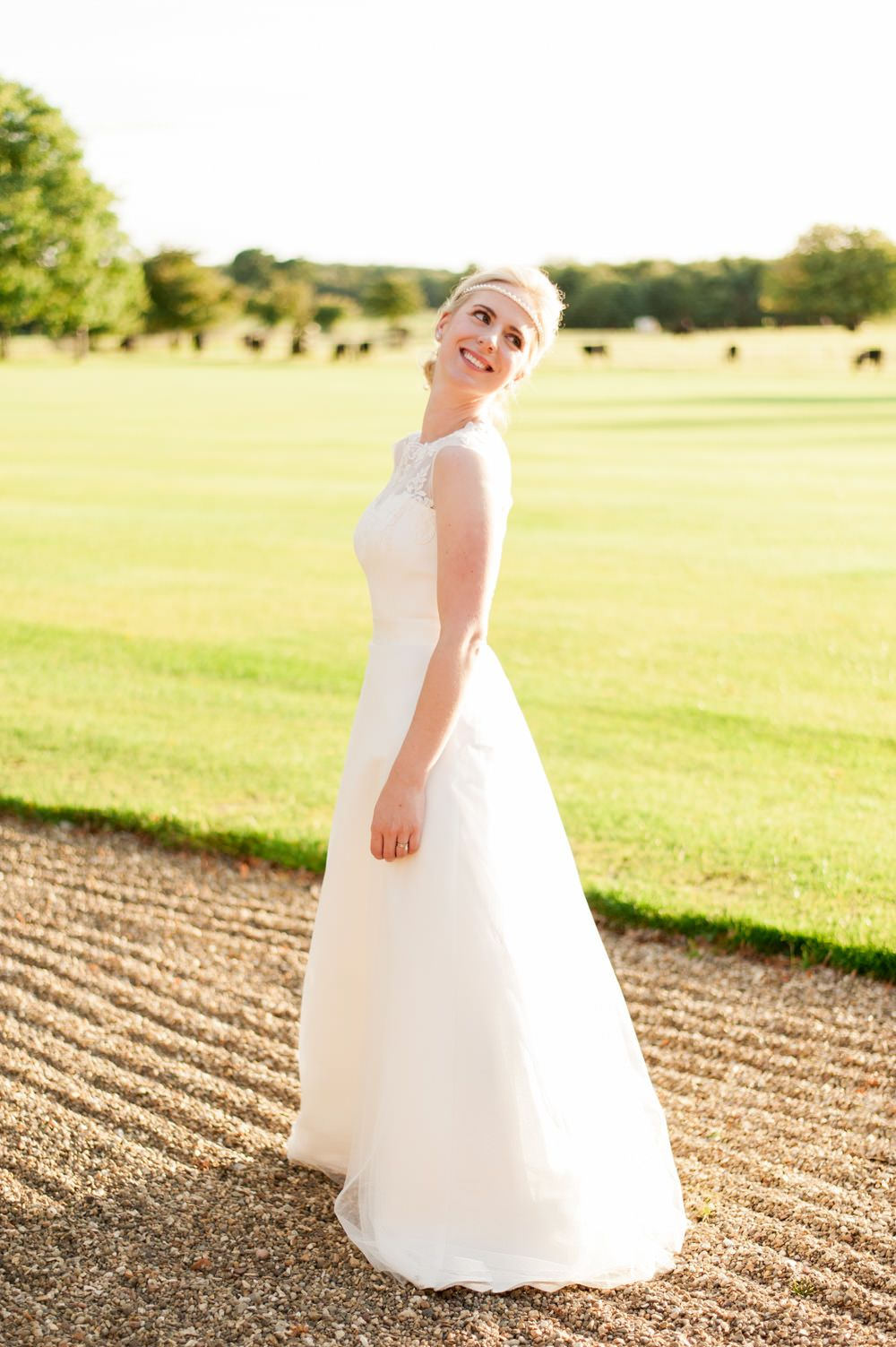 Rise Hall English Country Garden Wedding with Annais Bridal Gown ...