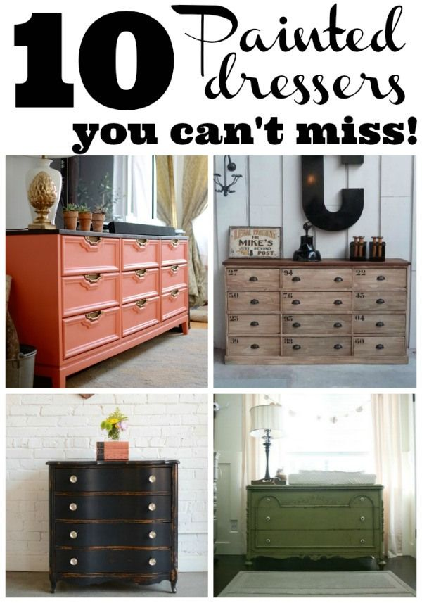 10 Painted Dressers You Can T Miss Home Diy Furniture Projects Furniture Makeover