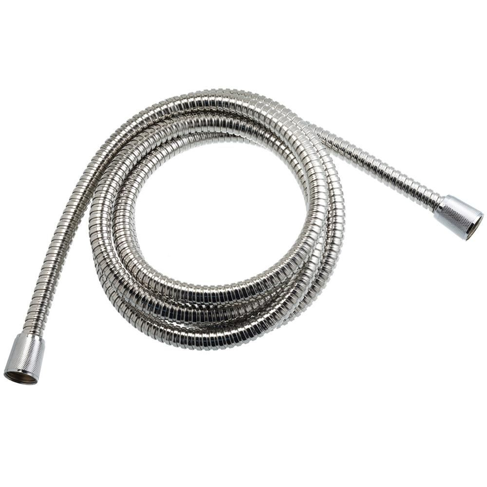 Am Conservation Group 72 In Replacement Showerhead Hose In Stainless Steel Silver Shower Heads Steel Conservation